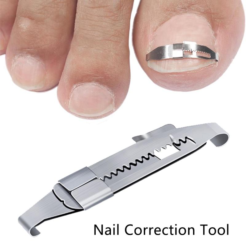 Инструмент для коррекции вросших ногтей, корректор для выпрямления ногтей, патч, инструмент, зажим для выпрямления ногтей, Скоба для педикю...