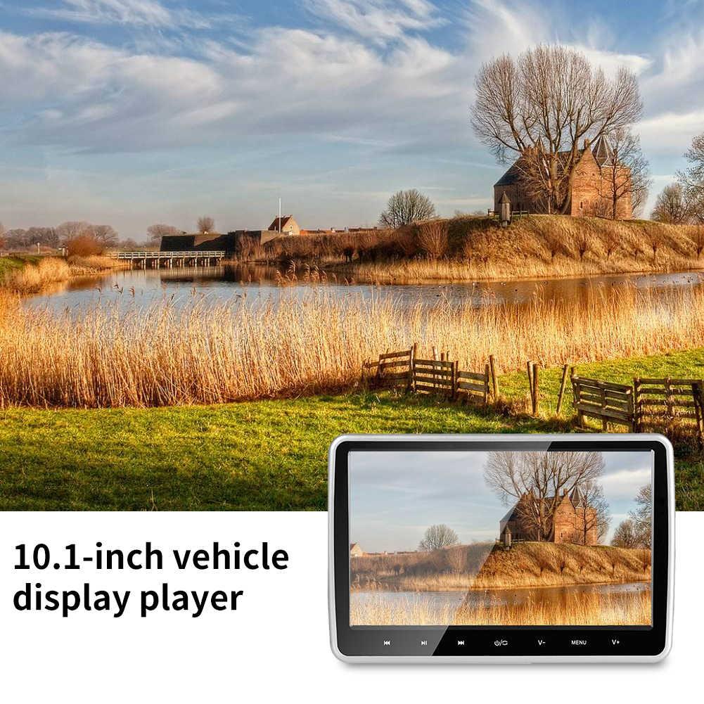 شاشات كريستال بلورية سهلة التركيب لعبة فيديو مشغل ديفيدي التحكم عن بعد سيارة الداخلية السفر HDMI 10.1 بوصة شاشة ملونة رقيقة جدا