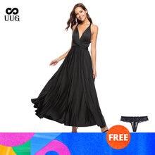 Uug сексуальное платье с глубоким v образным вырезом и открытой
