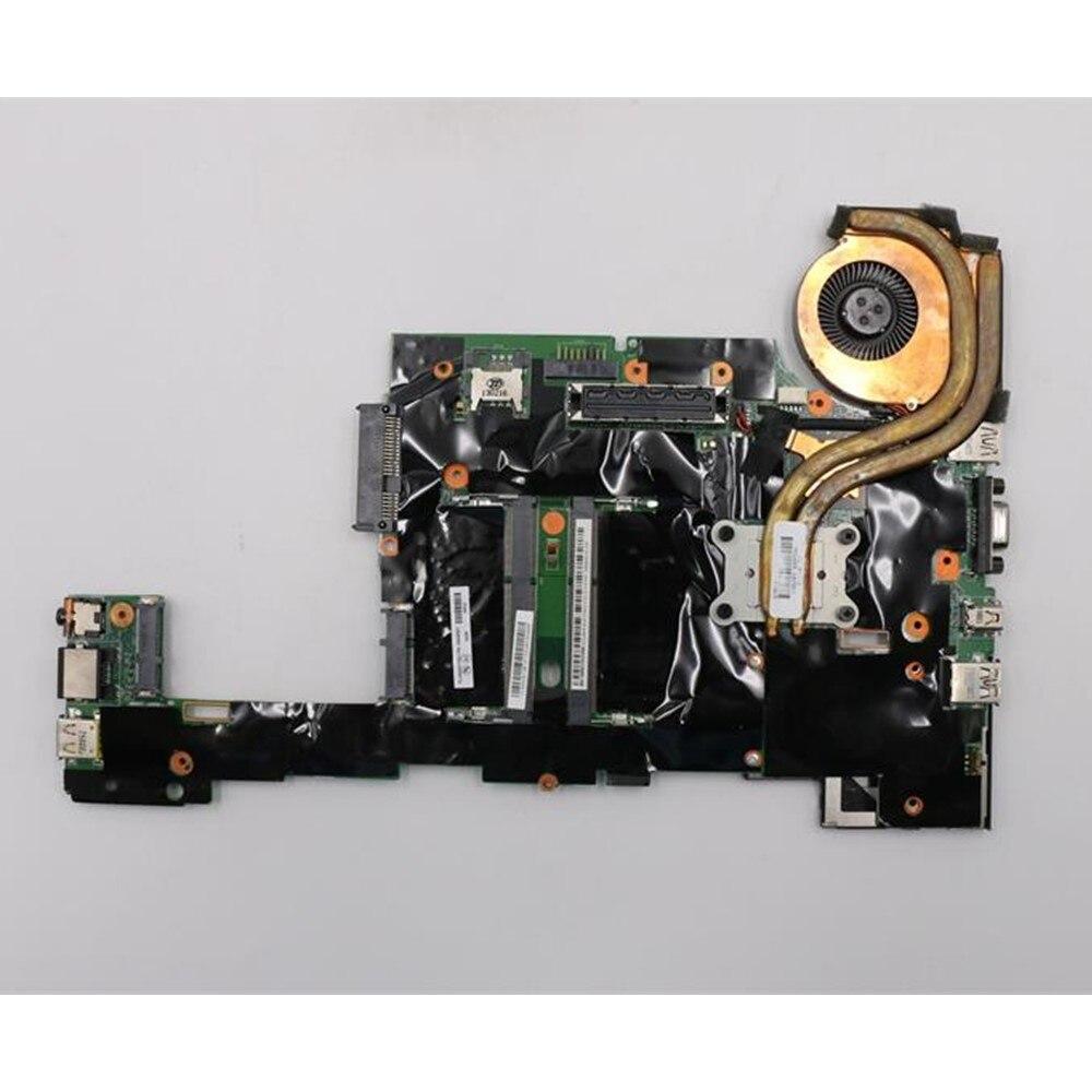 원래 노트북 레노버 씽크 패드 x230 x230i 마더 보드 메인 보드 i5-3320M 팬 100% 잘 작동 04w6686