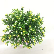 1pcs Simulation of Milan grain artificial plastic flower DIY home decoration, wedding photography festival flower(China)