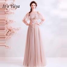 Женское вечернее платье it's yiiya длинное ТРАПЕЦИЕВИДНОЕ