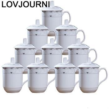 Milk Koffie Kopjes Vajilla Criativa Xicara Copo E Caneca Tea Kupa Bardak Taza Cafe Novelty Coffee Travel Ceramic Cup And Mug