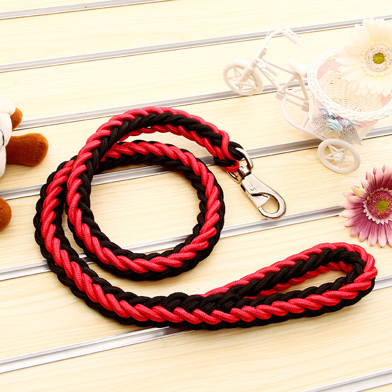 Dog Hand Holding Rope Ultra-Coarse Pet Traction Rope Medium Large Dog Dog Golden Retriever Rope Samoyed Dog Single Golden Retrie