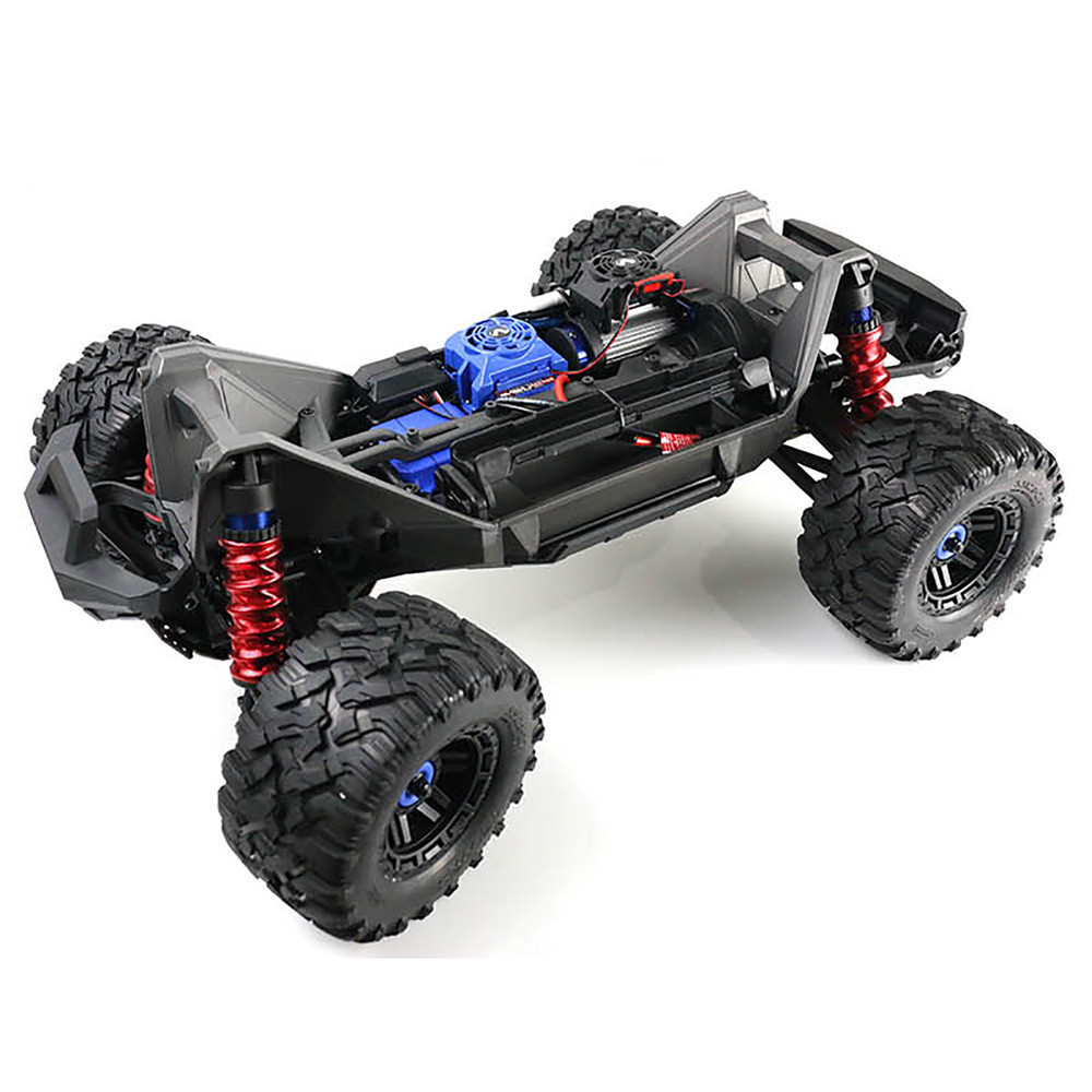 4pcs/set Shock Absorber Cover Model <font><b>Car</b></font> Spring Dust Sleeve for 1/10 Traxxas <font><b>X</b></font>-<font><b>Maxx</b></font> 89076-4 4WD <font><b>RC</b></font> <font><b>Car</b></font> Parts Accessories image