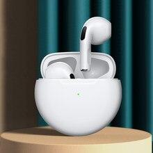 Carregamento sem fio mini fones de ouvido sem fio 9d estéreo baixo bluetooth 5.0 toque com cancelamento ruído esportes com microfone