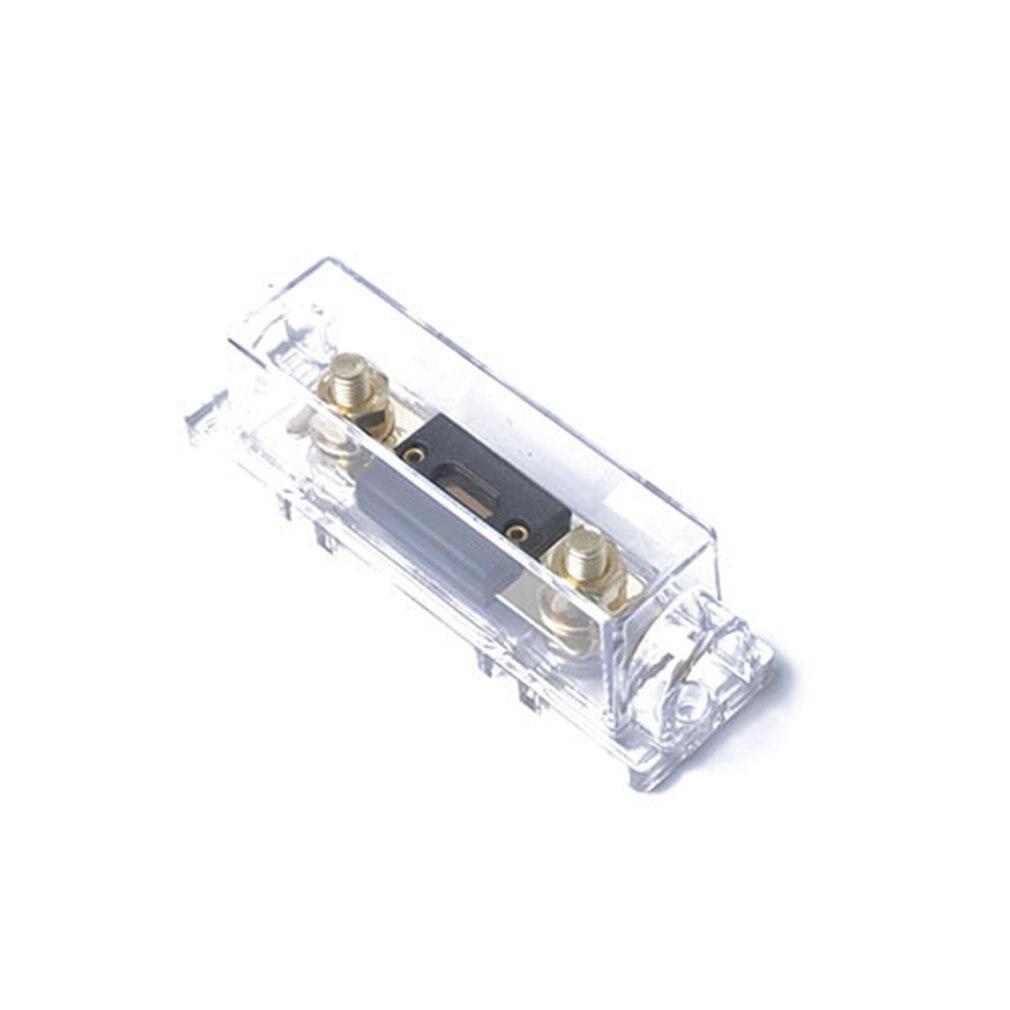 Fusible ANL portátil 300A con portafusibles ANL asiento inferior transparente accesorios de automóvil reemplazo perfecto
