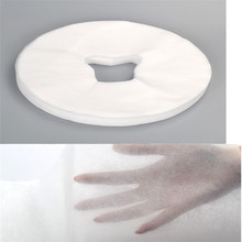 100pc / Lot Non-woven Disposable Towel Reclining Pillow Cushions Beauty Bed Hole Hole Towel Massage Health Care