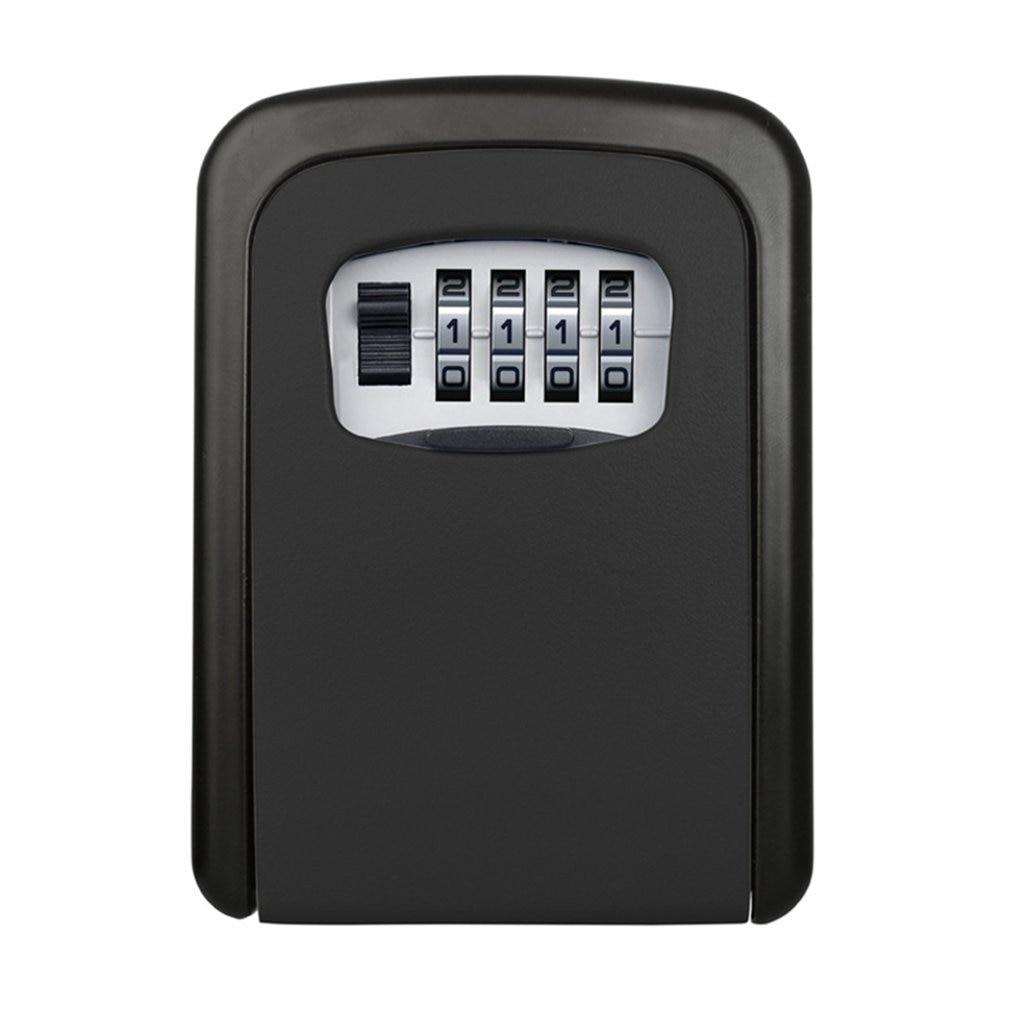 Password Key Box Large Size Decoration Key Code Box Key Storage Lock Box Wall Mounted Password Box Outdoor Key Safe Lock Box