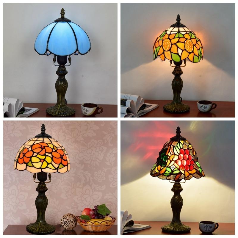 mediterraneo decoracao da lampada mosaico com 02