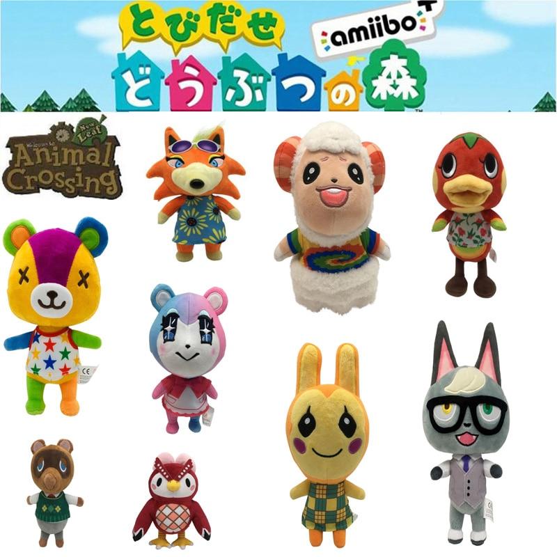 20 шт., плюшевая игрушка с пересекающимися животными, новые горизонты, игра, животные, пересечение, Amiibo marshal, плюшевая игрушка, кукла, подарки д