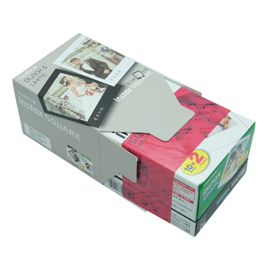 Image 5 - Fujifilm Instax Mini 30 Sheets Black+White Edge Film Photo Paper For Fujifilm Instax SQUARE SQ20 SQ10 SQ6 Instant Film Paper