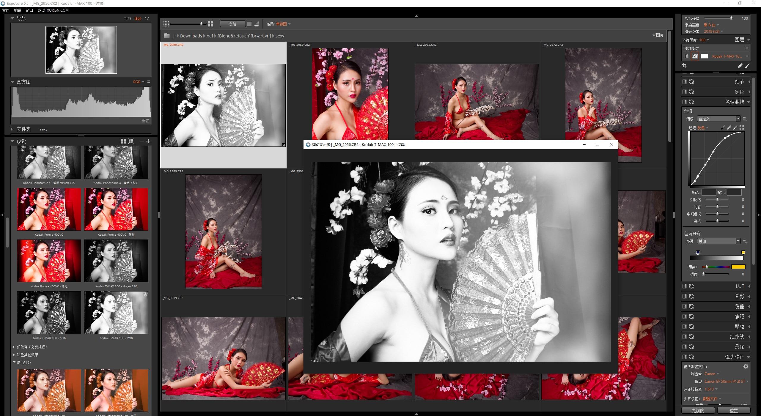 VIP资源-顶级创意摄影照片编辑器Alien Skin Exposure X5 5.2.3.285中文汉化版(1)
