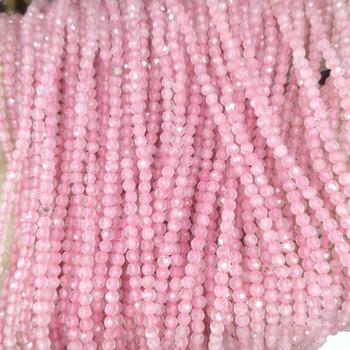 Szlifowane 2MM 3MM naturalny kamień okrągłe koraliki różowy kwarc ametysty Lapis lazuli agaty Jades koraliki do tworzenia biżuterii bransoletka Zrób To Sam tanie i dobre opinie SYSRXLR NONE zawieszki Okrągły kształt moda Natural stone beads about 1mm for jewelry making DIY bracelet necklace about 36-40 cm