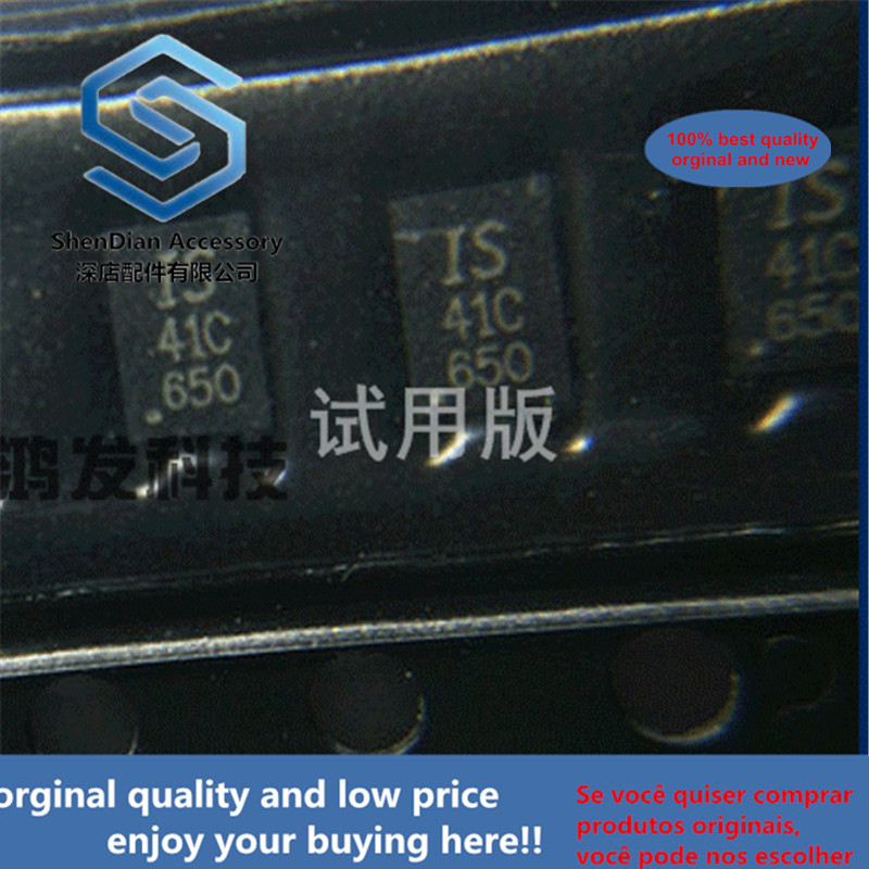 5pcs 100% Orginal New IS24C02C-2DLI-TR Memory IC Chip SMD DFN-8 QFN