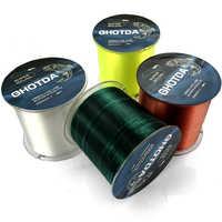 Monofilament Nylon Fishing Line 1000M 500M Super Strong Japan Material Fishing Accessories 4.4lb-28.6lb