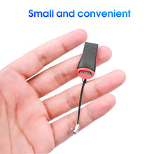 Kebidu Mini USB 2.0 Pembaca Kartu Memori USB Micro SD SDHC TF Flash Memory Card Reader Mini Adaptor untuk Laptop hitam 1 Pc(China)