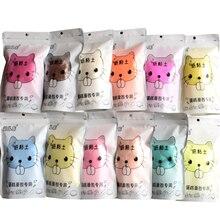 100g/bag Cartoon Cat Paper Polymer Clay Plasticine Slime Modeling Art Model Light Educational Toys for children Gift
