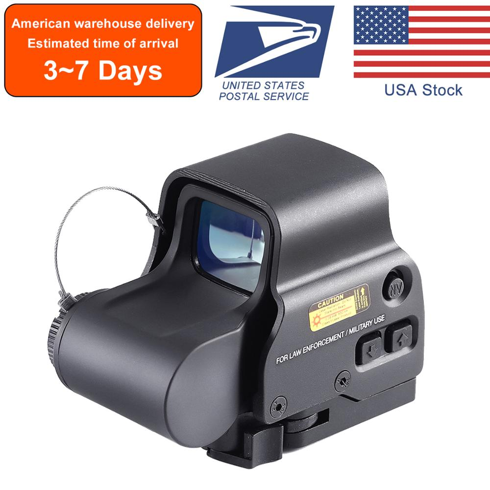 Clearance SaleSight Rail-Mounts Collimator Sniper Rifle Airsoft Hunting Doptic Tactics Red with 20mm