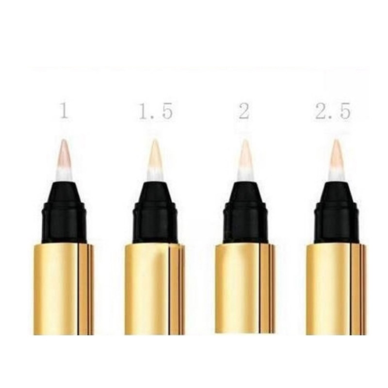 Face Make Up Concealer Pencils Touch Eclat Radiant Touch Concealer Brand Cosmetic 2.5ml 1# 2# 1.5# Face Highlighter