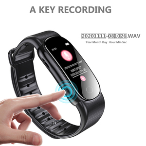 Image 4 - Savetek Fashion Polsband Armband Spraakgestuurd Mini USB Pen 8 GB Digital Audio Voice Recorder Sport Stappenteller Voor Lezingen