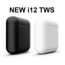 i12 i7s TWS Bluetooth 5.0 wireless Earphone Double Calls Stereo Smart Touch Earphones For iPhone Samsung A50 A70 S10 Headphone(China)