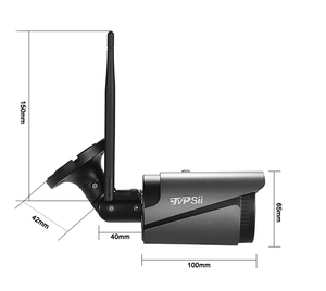 Image 3 - 5mp/4mp/2mp الأسود 36 قطعة الأشعة تحت الحمراء ICsee للماء IP66 الصوت H.265X 25fps 4CH 4 قناة Onvif AI كاميرا WIFI IP اللاسلكي أطقم