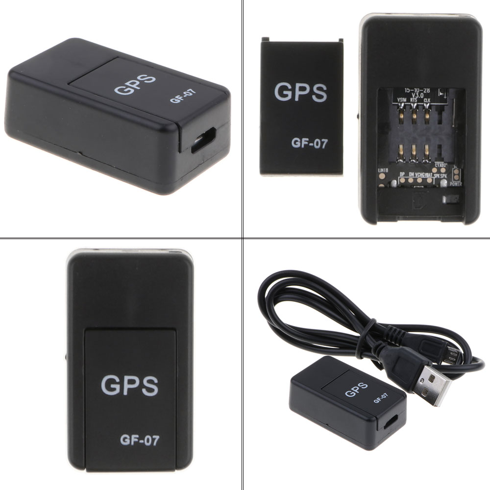 Mini GPS Tracker Car GPS Locator Anti-theft Tracker Real Time Car Gps Tracker Anti-Lost Recording Tracking Device Voice Control 6