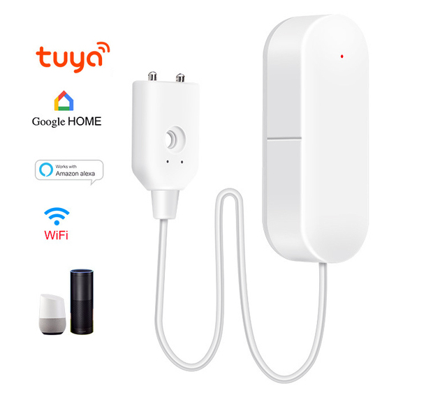 WIFI Water Leakage Alarm Smart Mobile Detector Alerts Water Sensor Alarm Leak Home Securit App Control Home Security