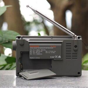 Image 3 - Radiwow R 108デジタルポータブルラジオステレオfm/lw/sw/mw/空気/のdsp液晶/高品質音アラーム機能屋内屋外