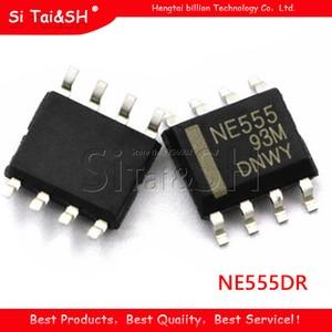 20pcs/lot NE555DR NE555 SOP8 SMD Timer time base circuit IC SOP-8