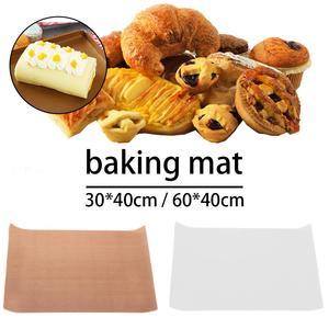 Reusable Baking Mat Hot Press Transfer Non-stick Baking Paper Heat-resistant Teflon Sheet Oven Microwave BBQ Grill Baking Mat(China)