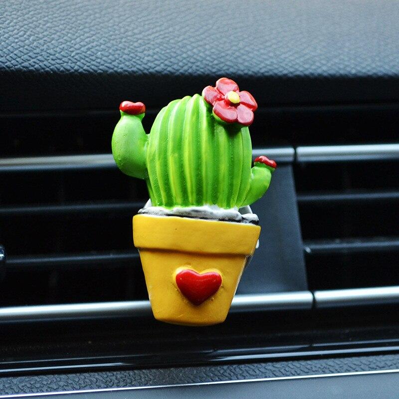 Ambientador con forma cactus 4