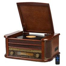Retro phonograph Bluetooth speaker upgrade Bluetooth version audio LP vinyl record player CD vintage record player