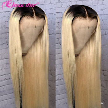 Brazilian 613 Blonde Lace Front Wig 13x4 Straight Lace Front Human Hair Wigs Pre Plucked With Baby Hair Jazz Star Hair Non-Remy
