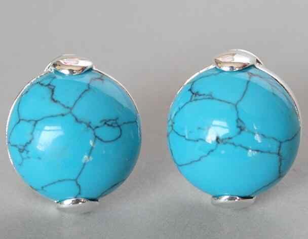 เครื่องประดับชุดไข่มุก VINTAGE หินสีฟ้า 925 เงินสเตอร์ลิง Marcasite แหวน (#7-10) จี้และต่างหูชุดจัดส่งฟรี