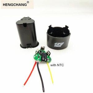 Image 1 - Furadeira elétrica de mão 3s bms li ion 12.6v 18650, pcb com caixa de armazenamento, acessórios para kit de broca de mão chave de fenda elétrica,