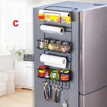 Kitchen Multifunction Refrigerator Storage Refrigerator Hanging Storage Rack Holder Large Capacity for Home Kitchen Fridge @LS