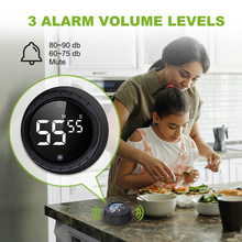 Baldr Kitchen Digital LCD Timer Magnetic Countdown Count Down 99 Minute Cooking Alarm