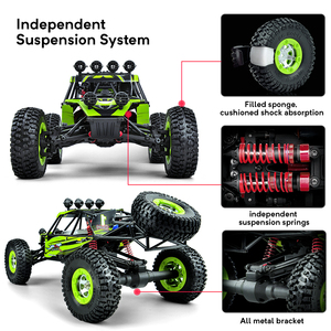 Image 3 - 1/12 RC Cars 4WD High Speed Racing car 48km/h RTR Rc truck 2.4G Radio Control Buggy Off Road vehicle Electric Toy Gifts