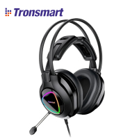 [NEW] Tronsmart Glary Alpha Gaming Headset with Colorful LED Lighting Noise cancelling 3.5mm + USB Port for Nintendo Switch/PS4