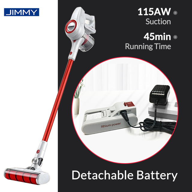 Xiaomi JIMMY JV51 Handheld Cordless Vacuum Cleaner Portable Wireless Cyclone Filter 115AW Suction Mi Carpet Dust Collector home