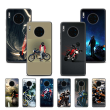 Case Cover for Huawei P40 Lite P20 P30 P9 P10 Lite Pro 2019 P Smart Plus Z Pro 2019 Phone Back Shell Moto Cross Motorcycle cool japan jdm sports car comic phone case for huawei p40 p30 p20 p10 mate 10 20 30 lite pro p smart z plus 2019 cover shell co
