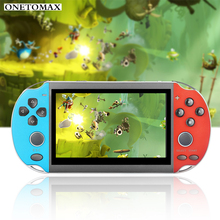 8G 16/32/64/128 Bit Portable Handheld Game Console 4.3'' Screen Built in 10000 Games Handheld Retro Video Game Player TV Output 2018 portable video handheld game console retro 64 bit 3 inch 3000 video game retro handheld console to tv rs 97 retro gane 07