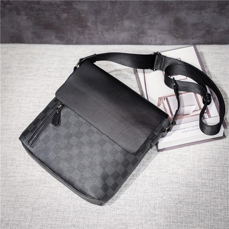 ombro xadrez sacos de couro aleta pequeno