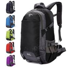 40L Large Capacity New Men Backpack Out Door Waterproof Casual Male Backpacks Women Sport Bag Black Travel Red Blue