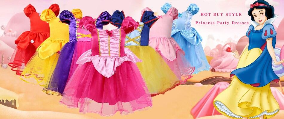 Hab35b17f64bc4f24af26cfa21c070352o Send crown Baby Girls Dress Christmas Anna Elsa Cosplay Costume Summer Girl Princess Dress for Birthday Party Vestidos Menina