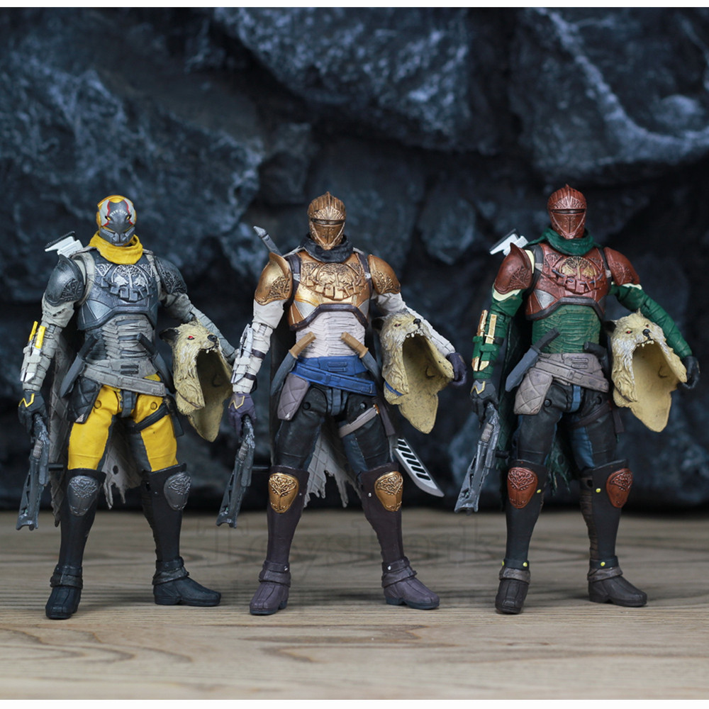 """Image 4 - McFarlane Toys DESTINY 7"""" Iron Banner Hunter Titan King's Fall Warlock Action Figure Model Million Blacksmith Shader Bungie Game-in Action & Toy Figures from Toys & Hobbies"""