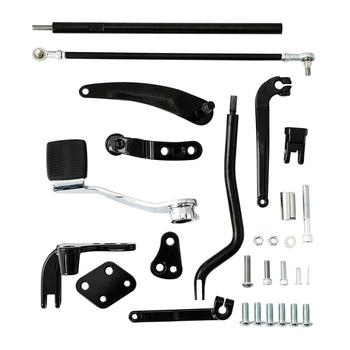 Motorcycle Reduced Reach Forward Control Adapter Kit For Harley Dyna Street Bob Low Rider Super Glide FXDB 2006-2017 2016 2015