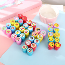 10Pcs Cute Cartoon Seal Childrens Toys Kindergarten Teaching Aids Reward Stamps Encourage Students Toy seal